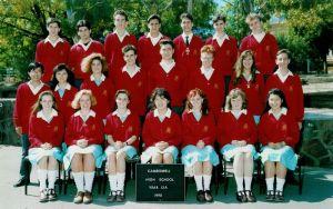1990s year group photos
