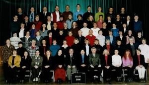 Staff photo, 2000