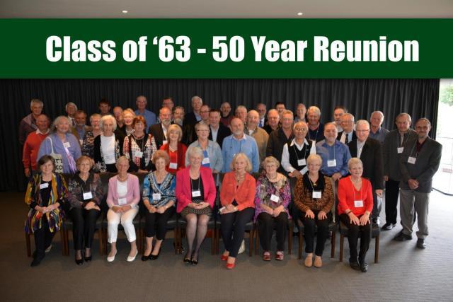 1963 50th reunion