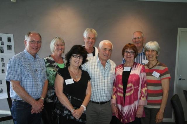 John Butler, Helen Mackinlay (Calder), Miriam Zimmet (Sheppet), Brian Beaumont, Ken James, Maree Elias (Harper), Phil Giltinan and Margaret Spong (Firth)