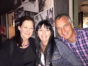 Elaine, Georgina & Rolf