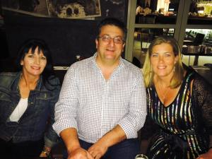 Georgina, Andrew & Lisa