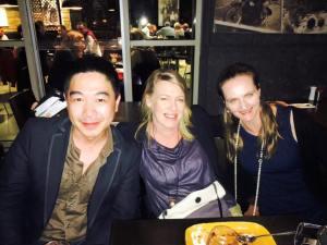 John, Sita & Megan
